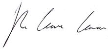 Ryan Clarkson-Ledward Signature