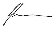 Greg Canavan Signature
